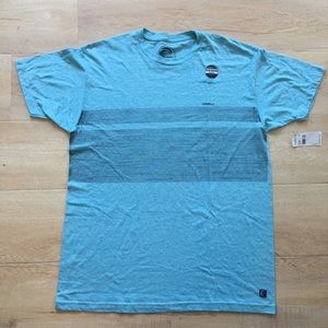 NWT O'Neill Blue Deluxe Premium Surf T-Shirt LARGE